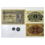 German Coins and Currency, 1940,1942 coins