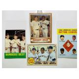(4) Mickey Mantle Baseball Cards
