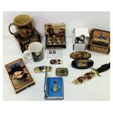 John Wayne Collection, New Pocket Watch, Knives,