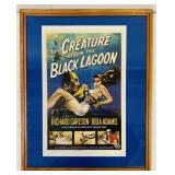Creature of the Black Lagoon, Copy Movie Poster