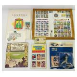 Legends Stamp and Scrap book, Ken Griffey,