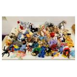 Big lot of Beanie Babies