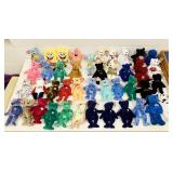 Lot of Beanie Babies, Diana Bears, Peace Bears,