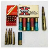 Mixed Ammo, all live except big one, NO SHIPPING