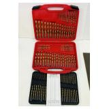 NEW 115 pc Drill Bit Set