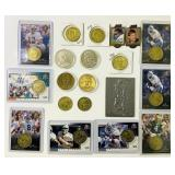 Lot of Football Mint Collection, (2) 1994 Pins,