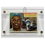 1956 Jackie Robinson #30 Topps Baseball Card
