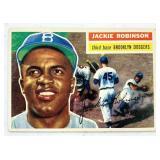 1956 Topps #30 Jackie Robinson Baseball Card
