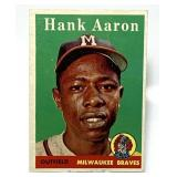 1958 Hank Aaron #30 Topps Baseball Card