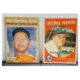 Mickey Mantle #10 and #471