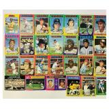 (27) Baseball Cards, 25 are 1975 Topps, 2 are not