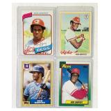 (4) Ken Griffey Baseball Cards