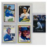 (5) Ken Griffey jr Baseball Cards