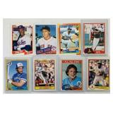 (8) Baseball Cards, Rogers Clemens #181