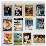 (12) Baseball Cards, Cal Ripken, Pete Rose, etc
