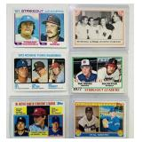 (6) Baseball Cards,1973 Rookie Third Basemen etc