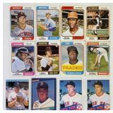(12) Baseball Cards, (4) Roger Clemens