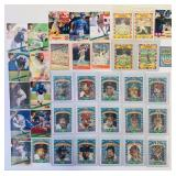 (37) 3-D/Halographic Baseball Cards