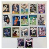 (17) Lou Whitaker Baseball Cards