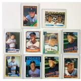 (19)  Sparky Anderson Baseball Cards