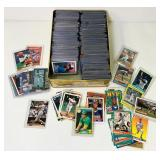 Lot of Baseball Cards, 98% are in sleeves,