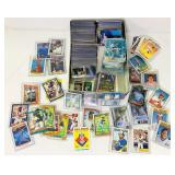 Lot of Baseball Cards, Various Years, mostly the