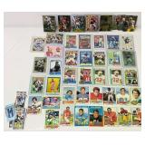 Lot of Football Cards, 1977,78 Cards, Skybox