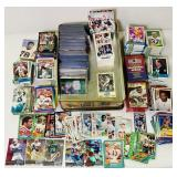 Lot of various Football Cards, Metal Universe,