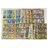 Lot of Football Cards in Binder Sleeves
