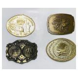 (4) Various Belt Buckles