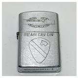 Golden Bell 1st Air Cav Div Lighter, Vietnam