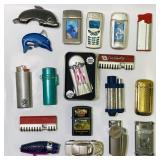 (18) Various Lighters/Torch Lighters
