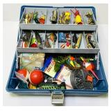 Tackle Bix Loaded with Tackle, Heddon, lil Devle,