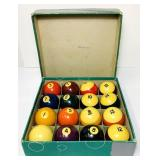 Full Set of Billiard Balls, Nice Balls
