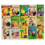 (16) Little Lulu, 12,15,20,25 cent Comic Books
