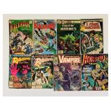 (8) Vintage Comic Books