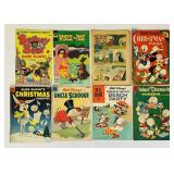 (7) Disney, (1) Barney Bear Comic Books