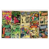 (10) Vintage Comic Books, Flash, Green Lantern,