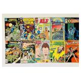 (10) Comic Books, Turtles, Alf, Wonder Woman, etc