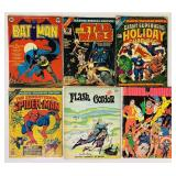 "(6) Giant 11"" x 14""  Comic Books"