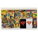 (12) Comic Books, Superman, 2 are SEALED