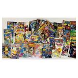 (64) Various Comic Books, Simpsons, Speed Racer