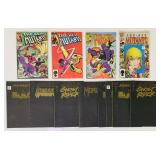 (12) Comic Books, 4 New Mutants, 8 Midnight