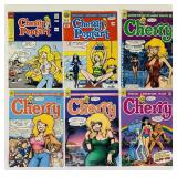 (6) Cherry  Adult Comic Books
