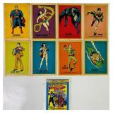 (8) 1974 Super Hero Cards, National Periodical Pub