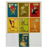 (7) 1974 Warner Brothers Comic Cards