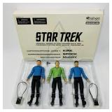 "Star Trek 7"" Figures, NEW Old Stock 2003"