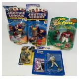 (4) Sealed Action Figures