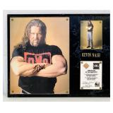 1998 Kevin Nash Signed Picture w/ COA
