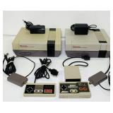 (2) 1985 Nintendo NES-001 Consoles, Not Tested Yet